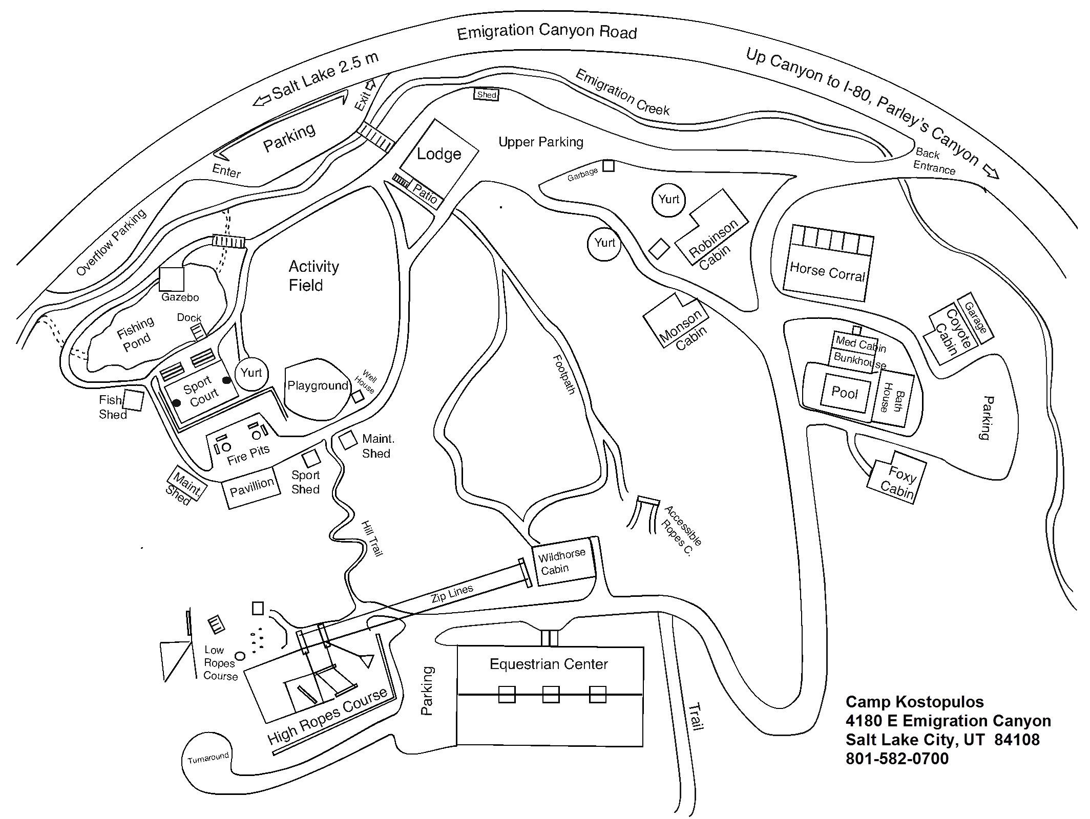 CampK Map 2015