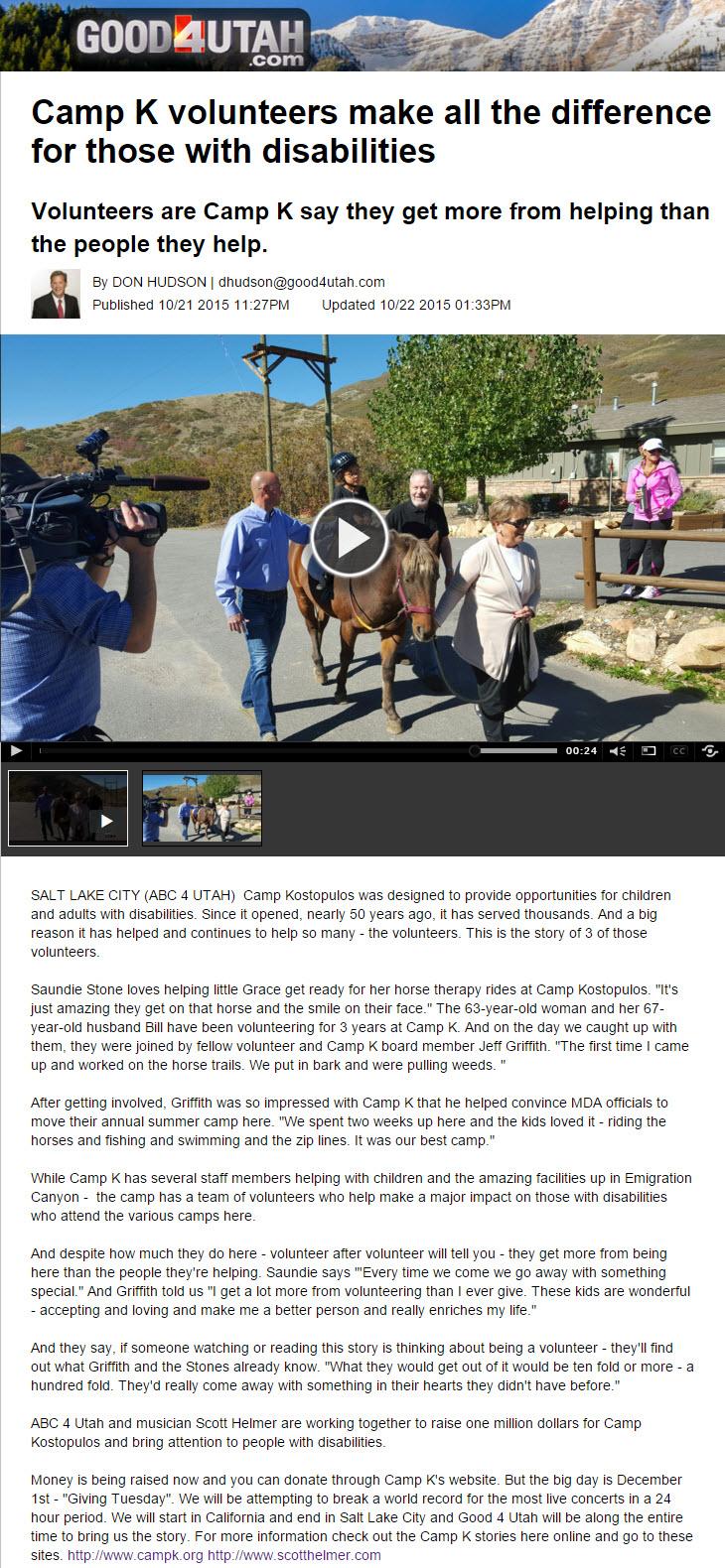ABC - Volunteer video